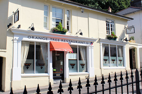 The Orange Tree Restaurant - a short walk from the Hesketh Crescent Apartment in Torquay