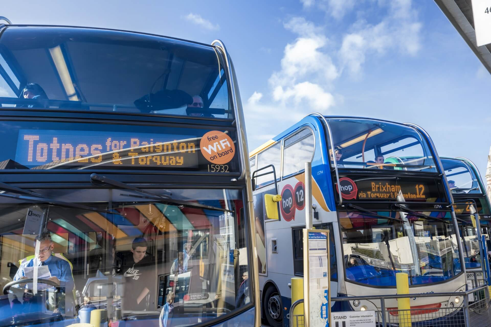 Bus Travel around Torquay and The English Riviera