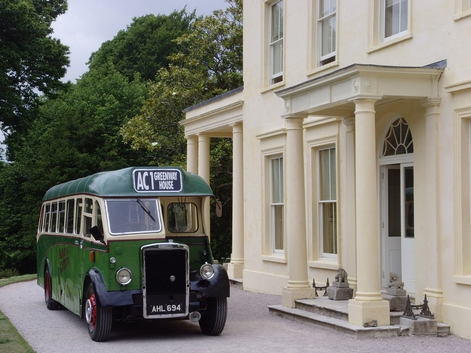 Greenway, holiday home of Torquay born Queen of Crime, Agatha Christie