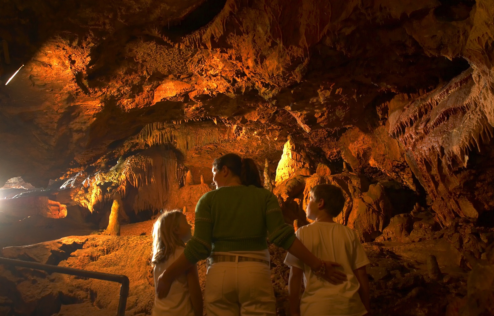 Kent's Cavern in the South Devon town of Torquay, close to The Hesketh Crescent Apartment.