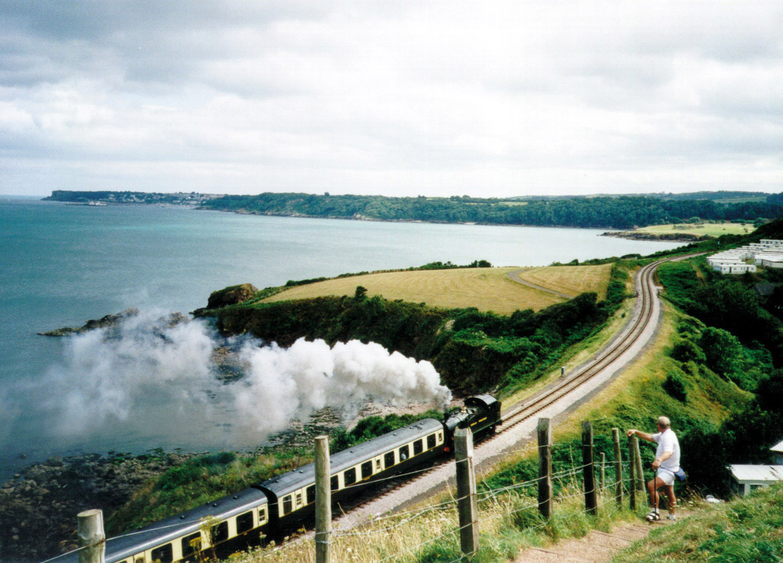 The Dartmouth Steam Railway on The English Riviera. An attraction that is easily accessed from The Hesketh Crescent Apartment